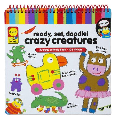 ALEX Toys Little Hands Ready Set Doodle Crazy Creature