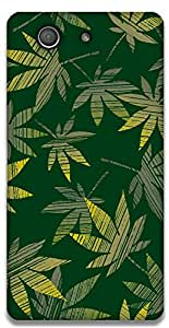The Racoon Lean Green Grass hard plastic printed back case / cover for Sony Xperia Z3 Compact