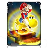 Super Mario World Yoshi Hard Back Protection Cover Case for The New iPad 2/3/4 iMCA-CP-16882 Apple i Pad Tablet PC Housing