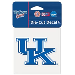 Buy Kentucky Wildcats Official NCAA 4x4 Die Cut Car Decal by WinCraft