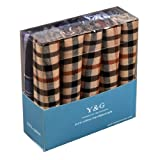 MH1053 Anniversary Gift 10 Pack Men Collection Set Hankies Set Box By Y&G