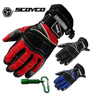 SCOYCO スコイコ 100% 防水 防寒 自転車 バイク アウトドア グローブ プロテクター