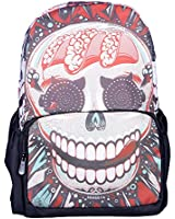 Crazy Genie High Quality Printing Gothic Style Fashion Bag/School Bag/Daypack/Backpack