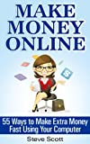 img - for Make Money Online - 55 Ways to Make Extra Money Fast Using Your Computer book / textbook / text book