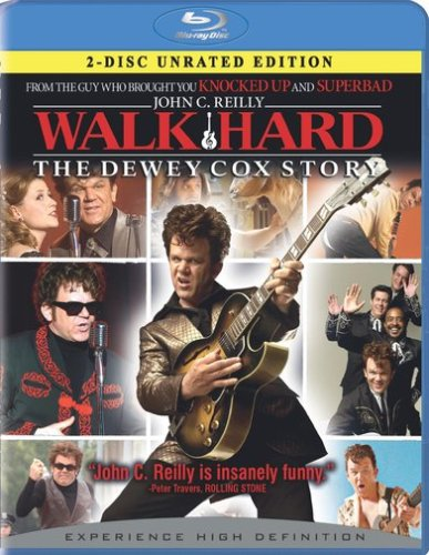 Walk Hard: The Dewey Cox Story (2-Disc Unrated Edition + Bd Live) [Blu-Ray]