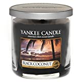 Yankee Candle Small Tumbler Jar Candle, Black Coconut