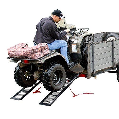 Rage Powersports ST-4811-1600-M-V2 Steel ATV Trailer Ramp (48.5