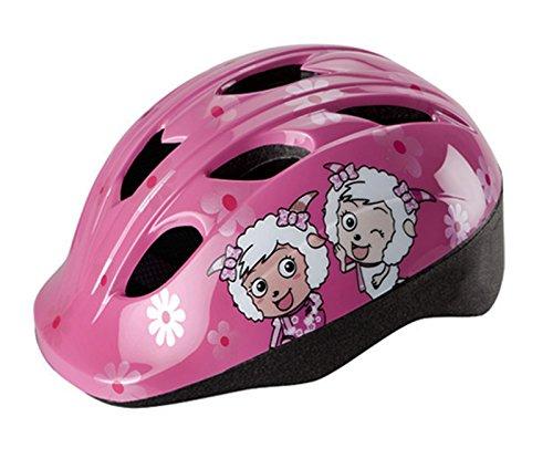 Cheeky 3532 casco unisex per bambini, omologato per bicicletta, pattini e skateboard, colore: rosa