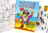 Pirate Mini Sticker Activity Book (Sold Singly)