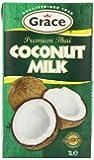 Grace Premium Coconut Milk 1 Litre (Pack of 12)