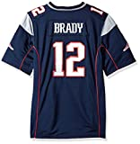 Tom Brady New England Patriots #12 Nike Youth Game Jersey - Navy