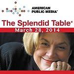 The Splendid Table, Saliva the Superhero, Mary Roach, and Mark Bitterman, March 28, 2014 | Lynne Rossetto Kasper