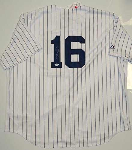 Whitey Ford Autographed P/S New York Yankees Jersey- JSA W Authenticated