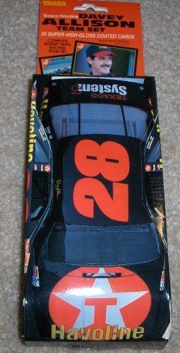 1992-texaco-havoline-davey-allison-racing-team-set-25-high-gloss-cards-by-traks