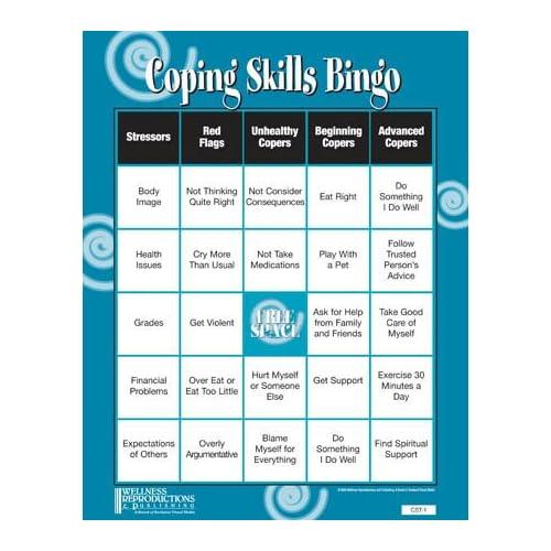 Coping Skills Bingo : Search Results : Calendar 2015
