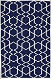nuLOOM Asa Trellis Rug in Denim Available in Multiple Sizes