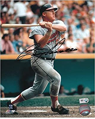 "Boog Powell Baltimore Orioles Autographed 8"" x 10"" Swinging Photograph - Fanatics Authentic Certified"