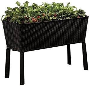 Keter Elevated Garden Bed Planter Box