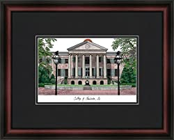 College of Charleston Academic Academic Framed & Matted 18x14 Lithograph