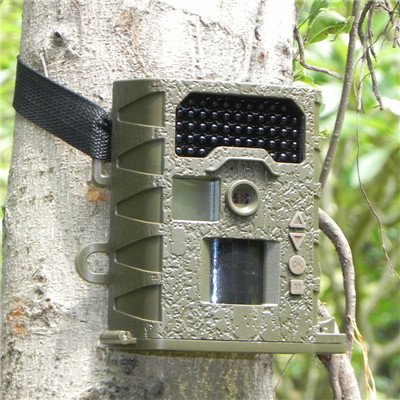 Gemtune G-800 12MP HD Infrared Trail Camera with Night Vision, Weather-proof, IP66, 48pcs No Glow IR LED, 1.5