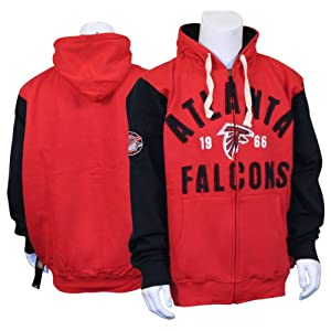 NFL Full Zip Founded Vintage Look Hoodie by NFL