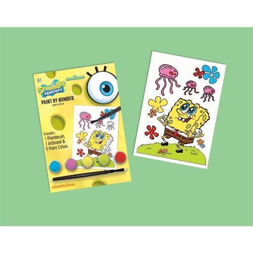 SpongeBob Sqaurepants Paint by Number - 1