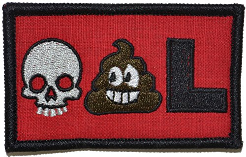 Purchase Deadpool Emoji - 2x3 Morale Funny Velcro Patch
