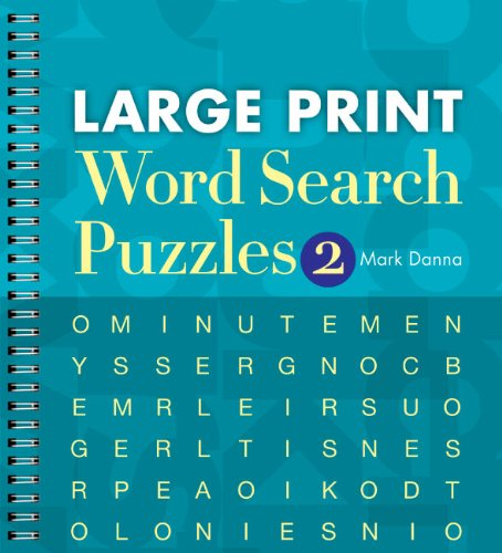 Large Print Word Search Puzzles 2 | The Artisan Shoppe