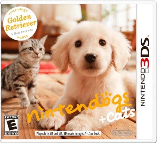 Nintendogs + Cats: Golden Retriever And New Friends front-545770