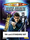 Doctor Who Alien Armies Trading Card Game - 180 card STANDARD SET