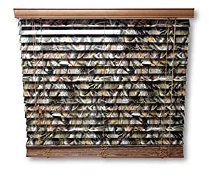 Amazon Com 2 Quot Camouflage Wooden Mini Blinds Realtree