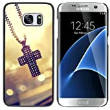 Design #7 : Graphic4You Cross Christian Jesus Thin Slim Rigid Hard Case Cover For Samsung Galaxy S7 Edge