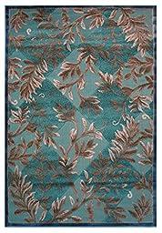 LA Rug Vintage Collection Multi-Color Area Rug (24 by 96 Inch ) 2443-AU9-H