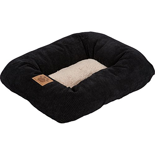 Precision Pet, SnooZZy Mod Chic Low Bumper Mat, 1000 Black (Precision Pet Bumper Pillow Bed compare prices)