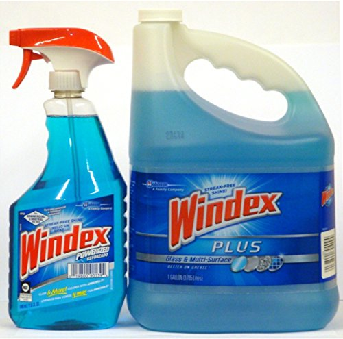 Windex Glass Multi Surface Cleaner Trigger Spray 32 Oz