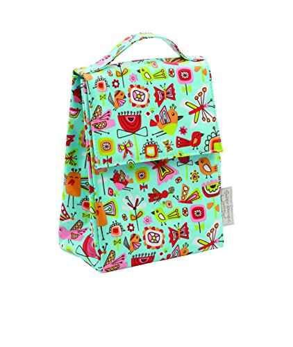 SugarBooger Classic Lunch Sack, Birds and Butterflies