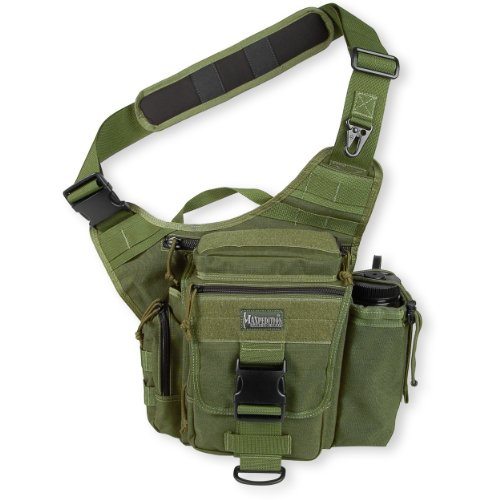 Maxpedition S-Type Jumbo Versipack Shoulder Bag - Olive Drab Green, 3.5lt