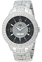 Marc Ecko Men's E20033G3 The King Box Silver Stainless Steel Set Watch