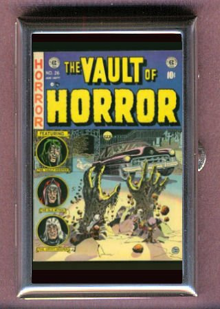 VAULT OF HORROR EC COMIC BOOK GRAVE Coin, Mint or Pill Box: Made in USA!
