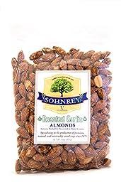 Sohnrey Family Foods Roasted Garlic Almonds (16oz)