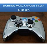 Chrome Silver Sniper Quick Scope Mod 17 Mode Mw3 Xbox 360 Modded Rapid Fire Controller ~ Lighting Modz