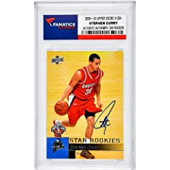 Stephen Curry Golden State Warriors Autographed 2009-10 Upper Deck #234 Rookie Card -... by Sports Memorabilia
