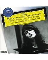 Martha Argerich - Debut Recital
