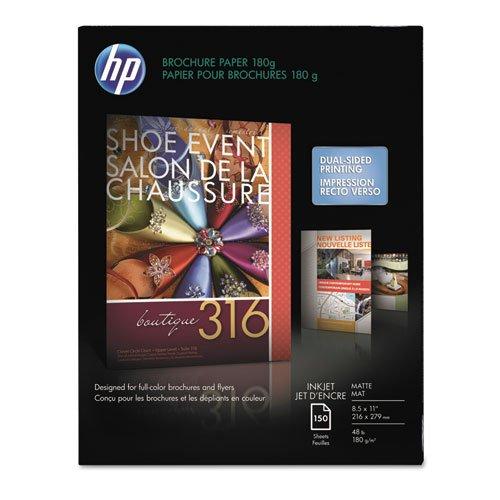 Hp - Inkjet Brochure/Flyer Paper, 103 Brightness, 48Lb, 8-1/2 X 11, White, 150/Pack Ch016A (Dmi Pk