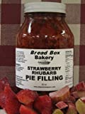 Strawberry Rhubarb Pie Filling, 36 oz