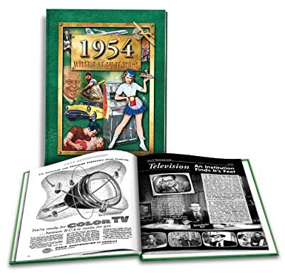 1954 What a Year It Was! Coffee Table Book (2nd Edition, 2013)
