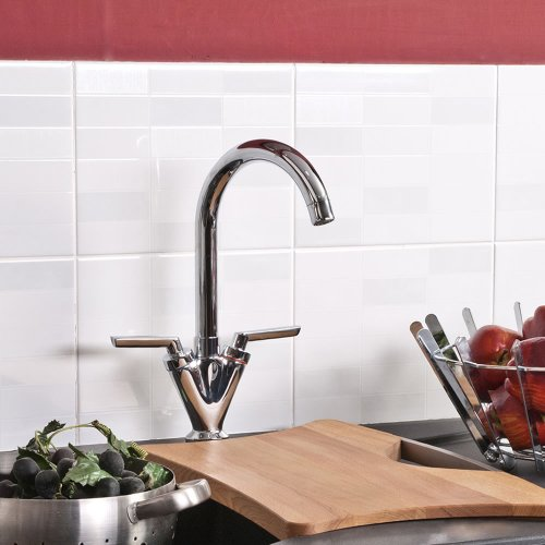 FLORENCE CHROME ART DECO KITCHEN SINK MIXER TAP - ATORRE