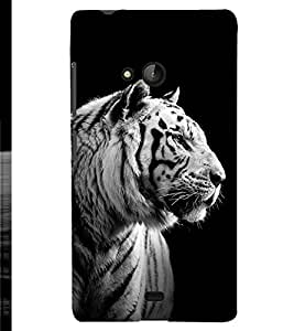 PRINTSHOPPII TIGER Back Case Cover for Lumia Lumia 540::Microsoft Lumia 540