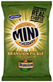 Mcvitie's Baked Mini Cheddars Branston Pickle Flavour Biscuits 50 g (Pack of 30)