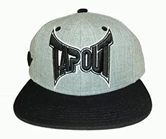 tapout smash black snapback hat at amazon men�s clothing